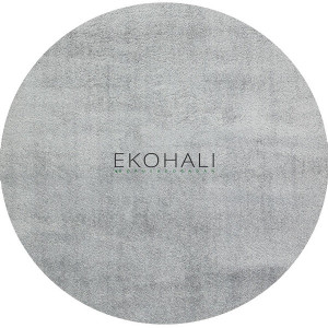 Kilimas Ekohali Comfort 1006 pilkas apvalus 160 cm