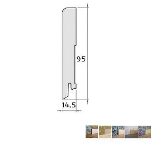 Faneruota grindjuostė, 15x95 2,5m, Pedross