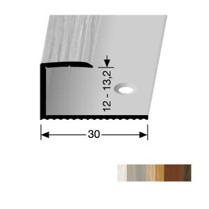 Profilis aliuminis, kraštų užbaigimui BEST 213 H (pragręžtas su varžtais), 2,7 m