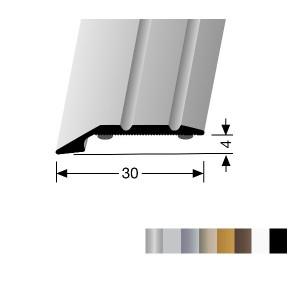 Profilis aliuminis, kraštų užbaigimui BEST 240 SK (prisiklijuojantis), 2,7 m