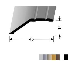 Profilis aliuminis, kraštų užbaigimui BEST 241 SK (prisiklijuojantis), 2,7 m