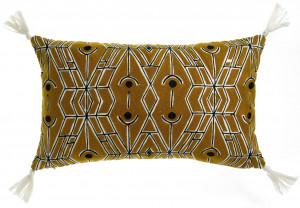 Dekoratyvinė pagalvė Tess Bronze siuvinėta 30x50 cm Vivaraise