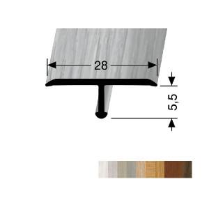 Profilis aliuminis, dangų sujungimui EB 293 H (lenkiamas), 2,7 m