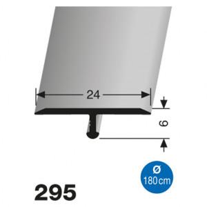 Profilis aliuminis, dangų sujungimui EB 295 (lenkiamas), 2,7 m