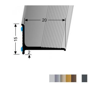 Profilis aliuminis, kampų apdailai BEST 369 SK (prisiklijuojantis), 2,7 m