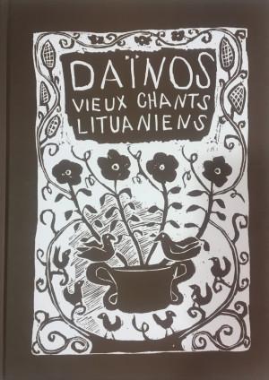 """Gražina Krivickienė / """"Dainos: Vieux chants lituaniens"""" / 2008 / knyga / Krantai"""