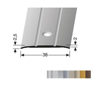 Profilis aliuminis, dangų sujungimui BEST 438 (pragręžtas su varžtais), 1 m