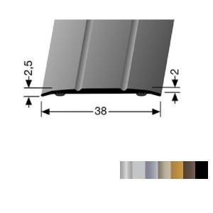 Profilis aliuminis, dangų sujungimui BEST 438 SK (prisiklijuojantis), 2,7 m