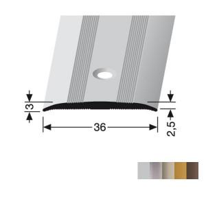 Profilis aliuminis, dangų sujungimui BEST 440 (pragręžtas su varžtais), 0,9 m