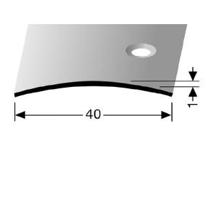 Profilis žalvarinis, dangų sujungimui BEST 454 S (pragręžtas krašte su varžtais)