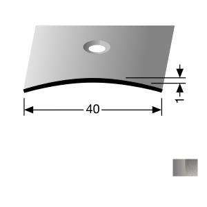 Profilis nerūdijančio plieno, dangų sujungimui BEST 454 (pragręžtas su varžtais), 1 m