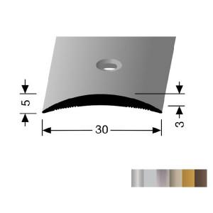 Profilis aliuminis, dangų sujungimui BEST 460 (pragręžtas su varžtais), 2,7 m