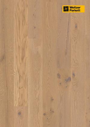 Parketlentės Weitzer parkett, Auster ąžuolas, rustic colourful, 48377, 1800x175x11, 1 juostos, Comfort plank kolekcija