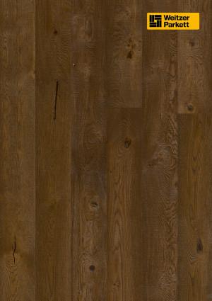 Parketlentės Weitzer parkett, Cognac ąžuolas, rustic, 49438, 2245x193x14mm, 1 juostos, Charisma plank kolekcija