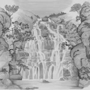 Tapetai (panelės) 9000003N neaustinio pluošto, Random Archist, Coordonne (galimi skirtingi dydžiai)