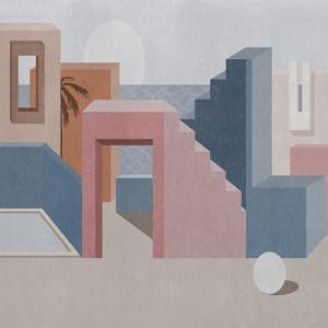 Tapetai (panelės) 9000010N neaustinio pluošto, Random Archist, Coordonne (galimi skirtingi dydžiai)