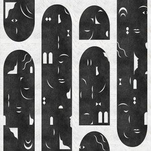 Tapetai (panelės) 9000021V vinilo, Random Archist, Coordonne (galimi skirtingi dydžiai)