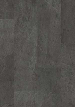 Vinilinės grindys Quick Step, juodas skalūnas, AMGP40035_2