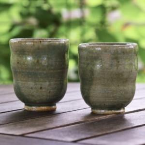 Keramika /Beatričė Kelerienė / Keraminis arbatos puodelis be rankenėlės / 2017