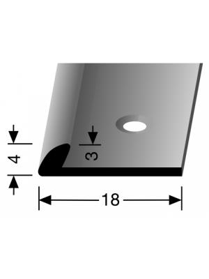 Profilis aliuminis, kampų apdailai BEST 357, 2,5 m