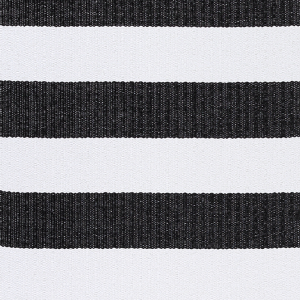 Kilimas Narma Birkas juoda-balta plastikas / 70x250 cm