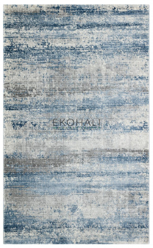 Kilimas Ekohali Como CM11 pilka mėlyna NW 200x290 cm