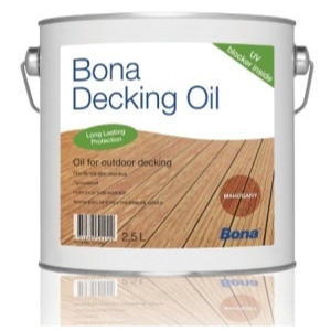 Alyva terasoms Bona Decking Oil, Mahogany 2,5 l
