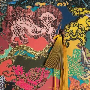 Tapetai DGKIM301 Kimono, Masureel