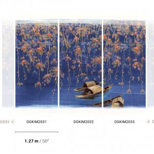Tapetai DGKIM2031-DGKIM2032-DGKIM2033 Kimono, Masureel
