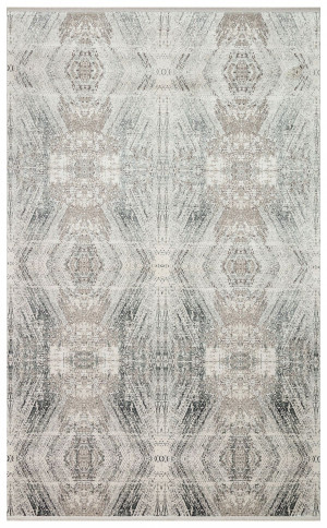 Kilimas Ekohali FRESCO FS19 kreminė pilka XW 120x180 cm