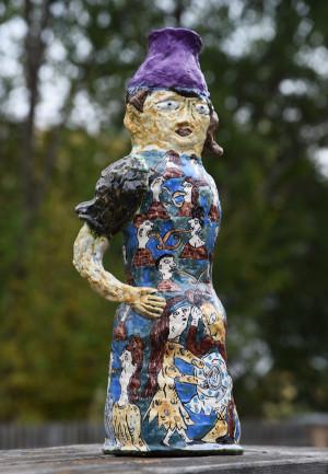 "Vaza ""Laimingi žmonės"" / 2007 / Jovita Laurušaitė"