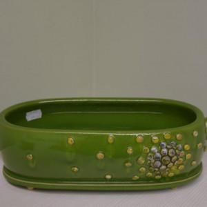 Įdėklas su burbuliukais vidutinis žalias