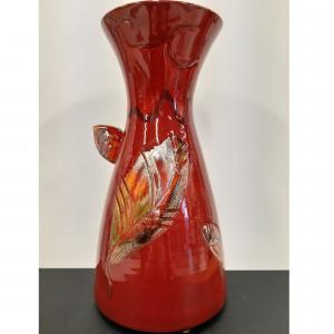 Vaza talija raudona