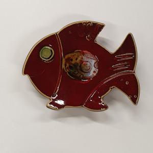 Žuvys padėkliukai maži raudoni