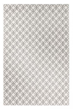 Kilimas Vallila Klarinetti white grey 160x230 cm