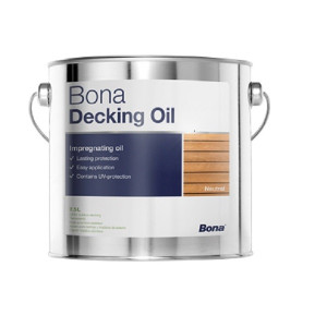 Alyva terasoms Bona Decking Oil 2,5 l