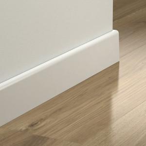 MDF grindjuostė PGPSKRPAINT, Balta, 77x14 mm 2,4m, Pergo