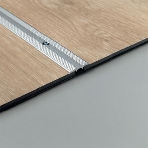 Sujungimo profilis vinilui PGVEXPCOMSILV, komercinėms patalpoms,  5x26 mm 2m, Pergo