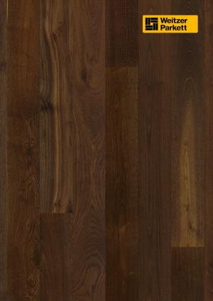Parketlentės Weitzer parkett, dūmintas ąžuolas, lively, 20934, 2245x193x14mm, 1 juostos, Charisma plank kolekcija
