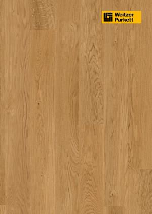 Parketlentės Weitzer parkett, natūralus ąžuolas, calm, alyva, 62041, 1800x175x11, 1 juostos, Comfort plank kolekcija