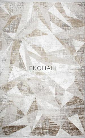 Kilimas Ekohali PORTO PT05 pilka beige 120x180 cm