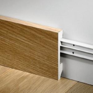 Faneruota grindjuostė QSWPPSKR(-) Compact kolekcijai, 16x80mm 2,4m, Quick-Step