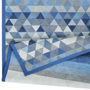 Kilimas Narma Luke mėlynas 450 / 80x250 cm