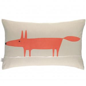 Pagalvė Mr. Fox large 40*64cm beige/oranžinė