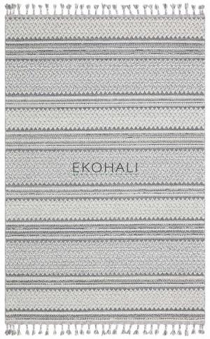 Kilimas Ekohali Soho SH05 ivory pilka 160x230 cm