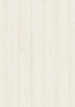 Laminuotos grindys Quick-Step, Ąžuolas dažytas baltas, SIG4753