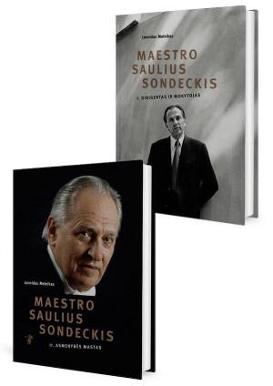 "Leonidas Melnikas / ""Maestro Saulius Sondeckis I-II"""