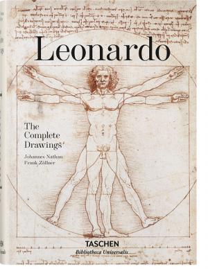 "Frank Zöllner, Johannes Nathan / ""Leonardo. The Complete Drawings"" / 2014 / knyga / leidykla ""Taschen"""