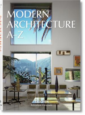 """Aurelia Taschen / """"Modern Architecture A–Z"""" / 2016 / knyga / leidykla """"Taschen"""""""