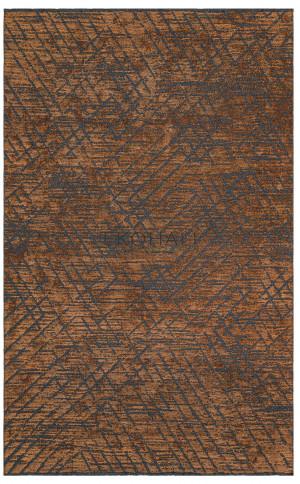 Kilimas Ekohali Tribal TRB02 antracit terra 80x140 cm